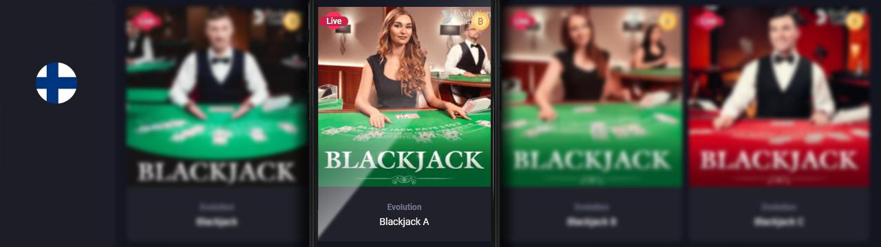 Parhaat online-Blackjack-pelitarjoukset suomalaisten nettikasinoissa