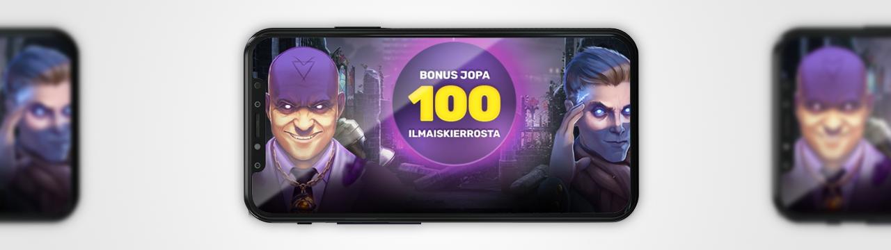 Suurin ilmaiskierrokset ei talletusta mobiilikasinolle suomalaisille pelaajille