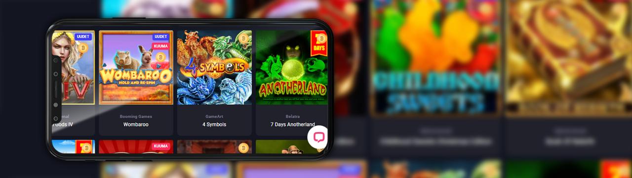 Parhaat kolikkopelit mobiilikasinoissa suomalaisille pelaajille