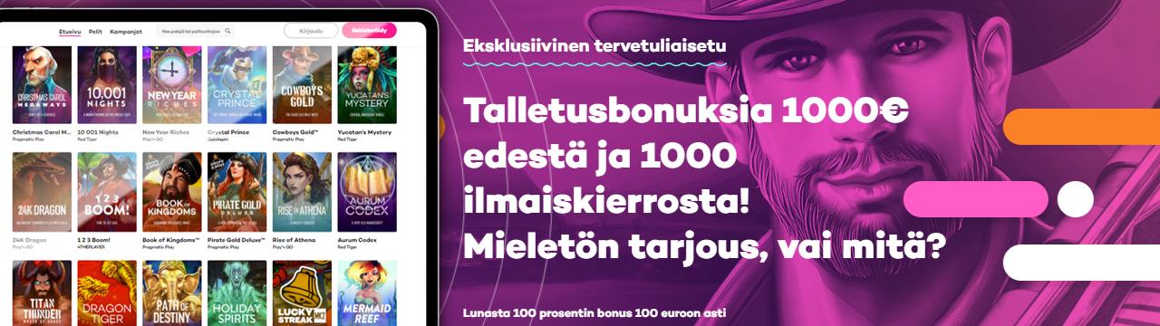 Bonusten enimmäismäärä Talletusbonukset Suomessa