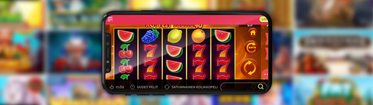 Parhaat hedelmäpelit mobiililaitteilla