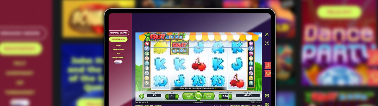 Paras hedelmäpeli netissä