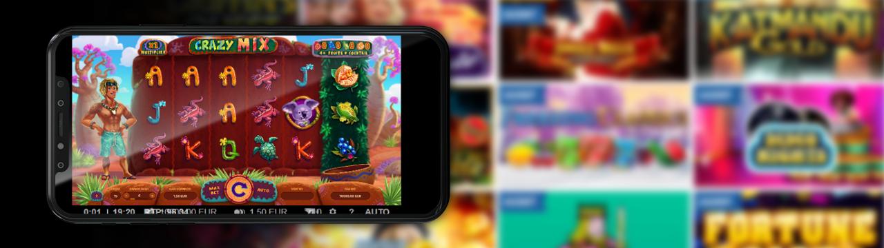 Pelaa parhaita ilmaisia kolikkopelejä mobiililaitteilla