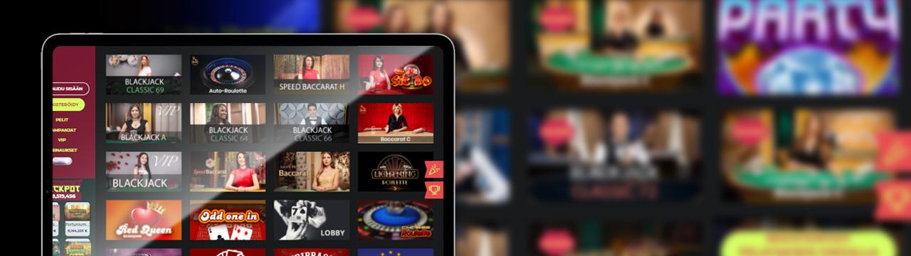 Paras suomalainen live-kasino mobiililaitteella