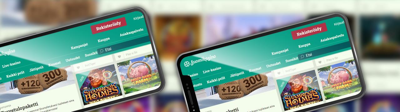 SuomiKasino on paras mobiili online-kasino