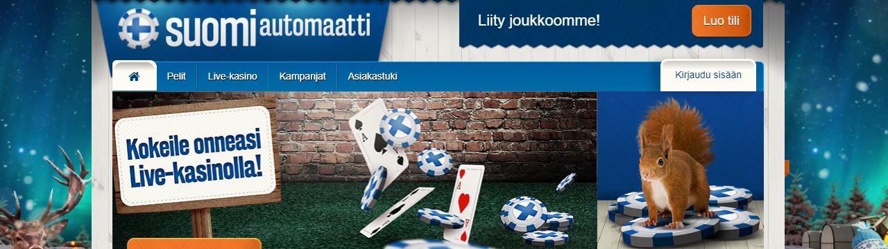 Pelaa parhaalla nettikasinolla suomalaisille pelaajille