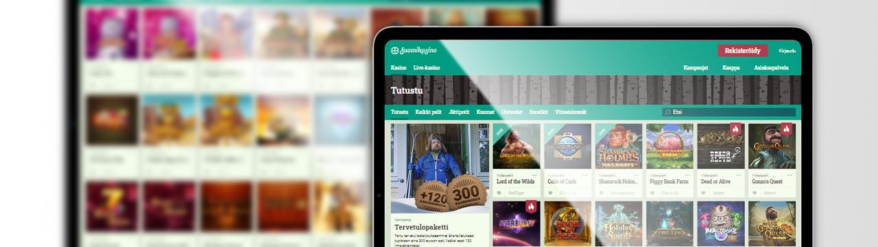 Tarjoaa parhaat nettikasinopelit suomalaisille - Suomikasino