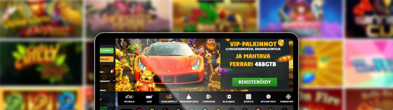 Suomen parhaat online-kasinot