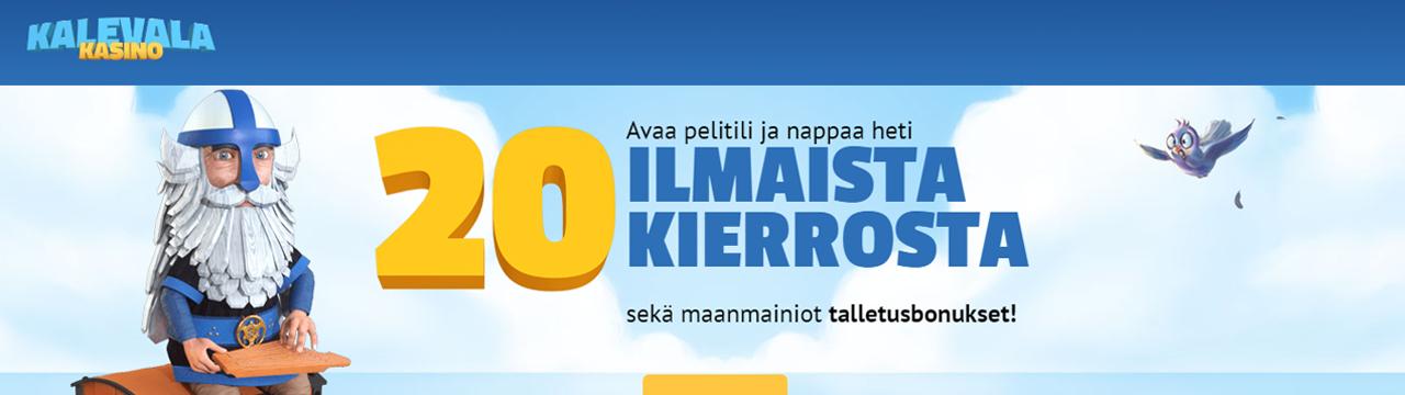 Paras suomalainen kasino - Kalevala-kasino