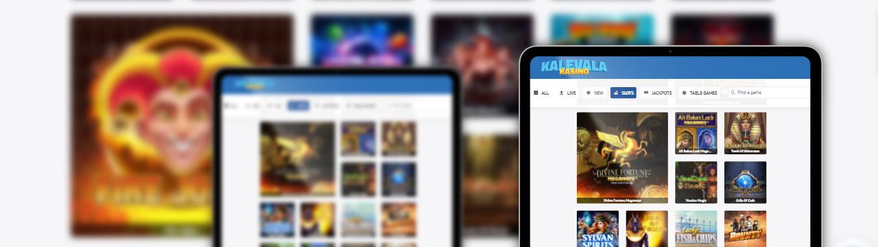 Parhaat online-pelit Kalevala Kasinon mobiilikasinolla