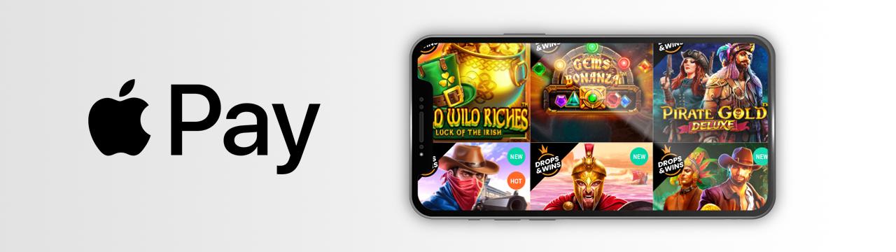 Paras tarjous suosikkipeleistäsi Apple Pay -kasinoilla