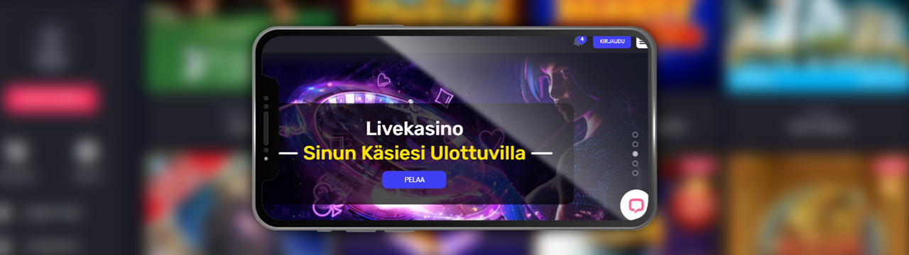 suomalainen kasino tarjoaa ilmaista pelirahaa