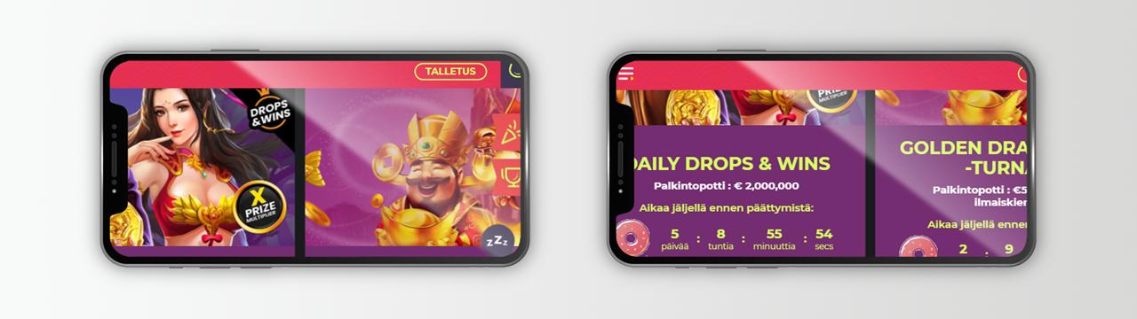 Ilmainen peliraha online-kasinoissa Suomessa