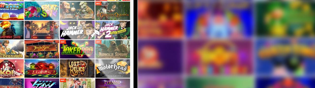 pelata nettikasinoilla, jolla on hyvä valikoima pelejä