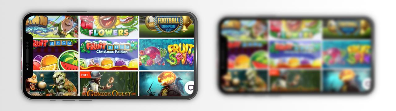 Voit pelata kolikkopelejä oikealla rahalla mobiilikasinolla