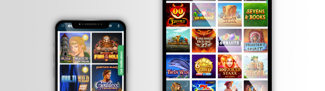 parhaat pelit EuroLotto-kasinolla mobiililaitteilla