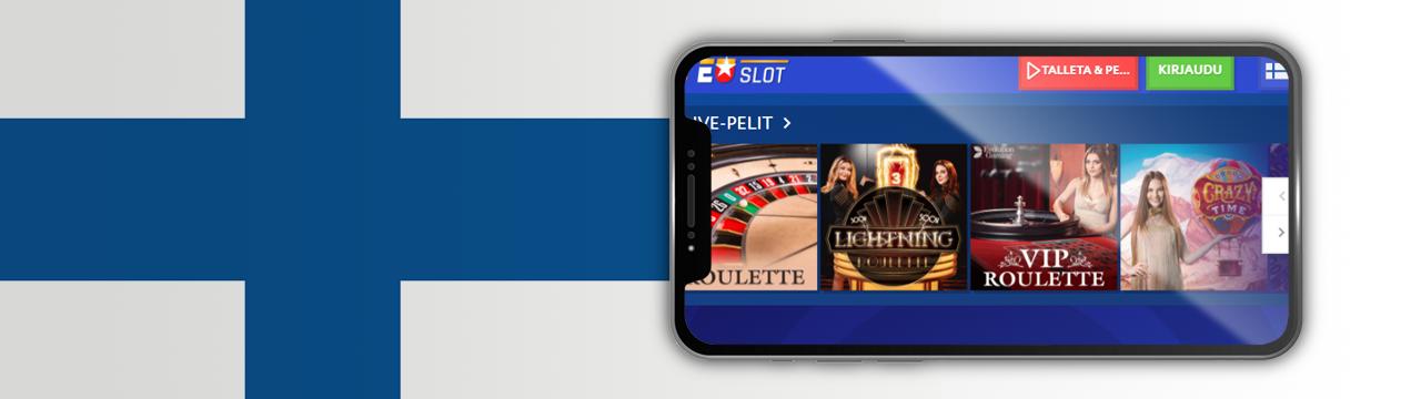 parhaat EuroSlots-kasinopelit mobiililaitteilla
