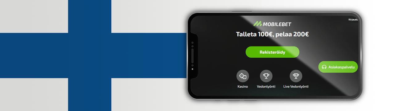 parhaat Mobilebet-kasinobonukset suomalaisille pelaajille