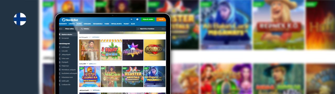 NordicBet-kasinobonukset suomalaisille pelaajille