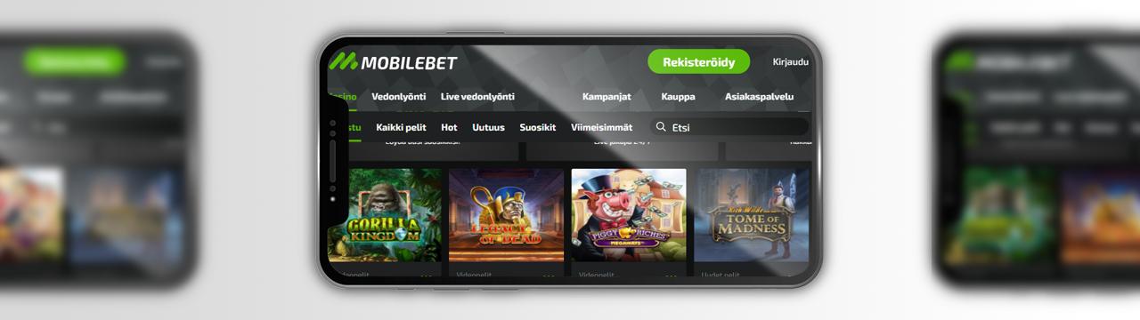 parhaat peliautomaatit Mobilebet-kasinolla mobiililaitteilla