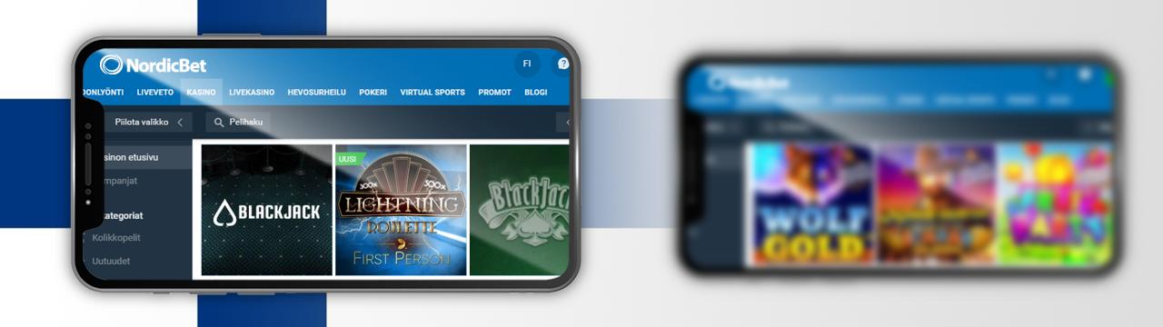 suomalaisten pelaajien vaikutelmat NordicBetin mobiilikasinosta