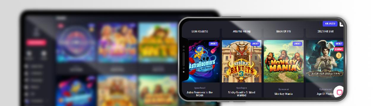 parhaat pelit uusilla online-kasinoilla